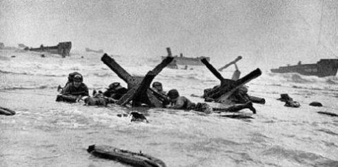 Desembarco en Omaha Beach, Normandía