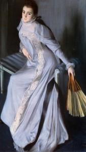 Eugenia, por Jacques-Emile Blanche