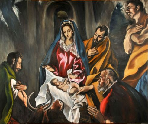 La Natividad - El Greco (1603-1605)