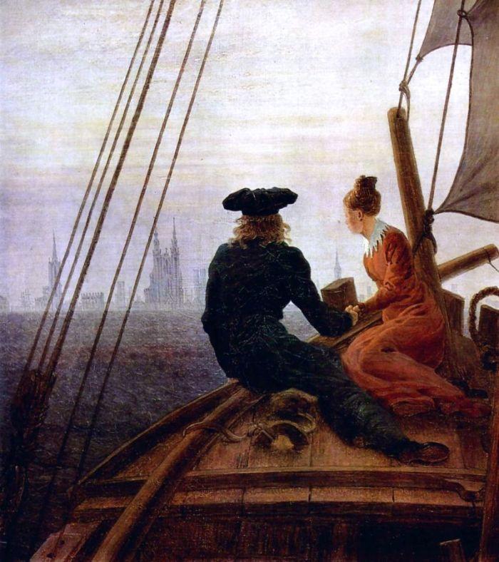Óleo deCaspar David Friedrich ( 1774 – 1840)
