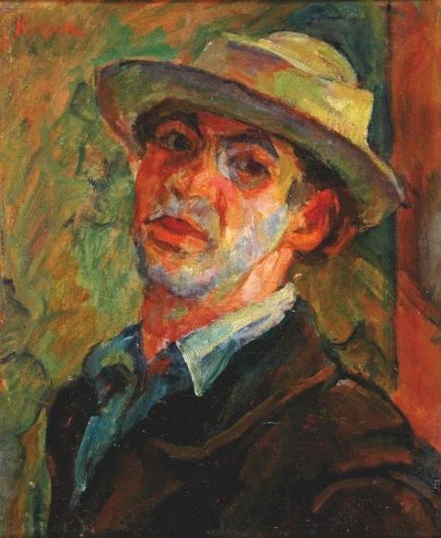 Michel Kikoine, Autorretrato