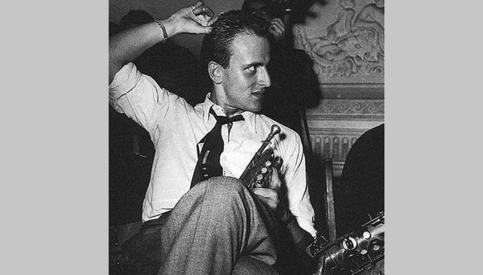 Boris Vian en el Club 'Tabou'. 1948