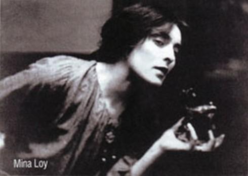 La actriz y poeta Mina Loy