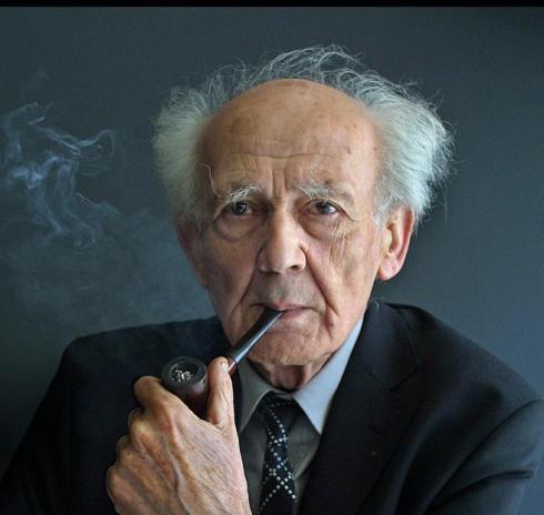 El filósofo Zygmunt Bauman. Foto de Jordi Belver